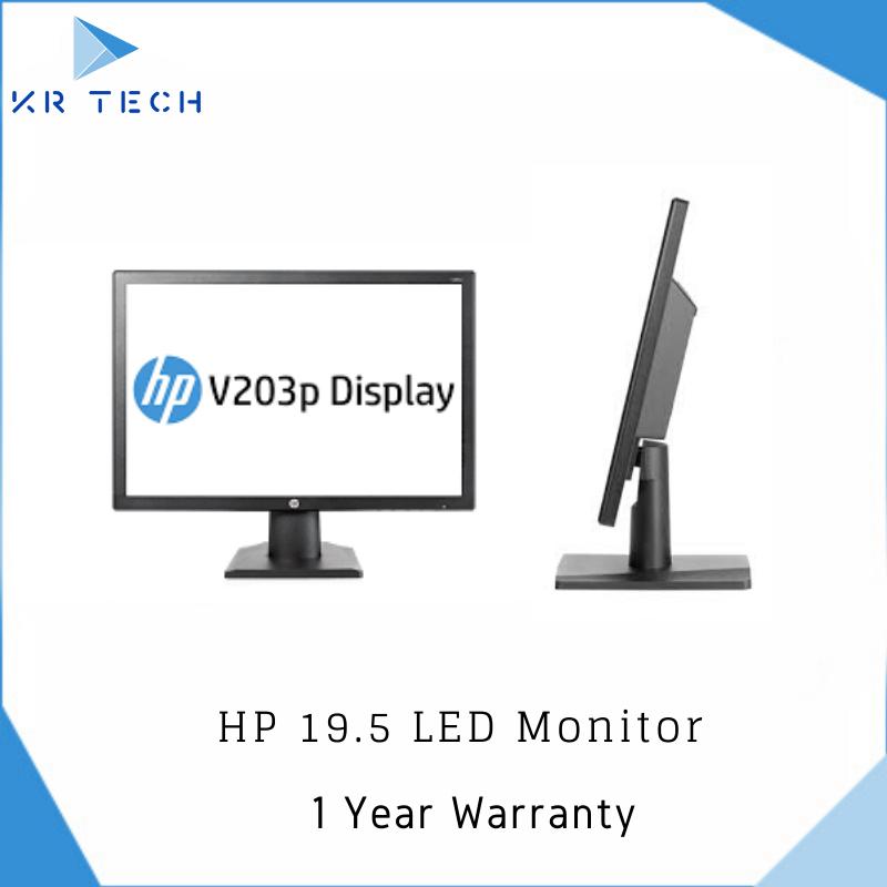 Acer EB192Q / HP V203p  Black LED Monitor with Warranty! (Non HDMI Model)