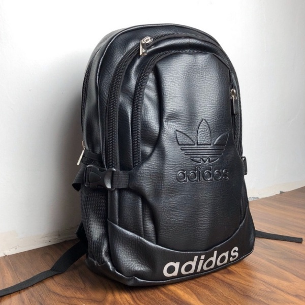 【Ready Stock】Adidas PU Leather Backpack