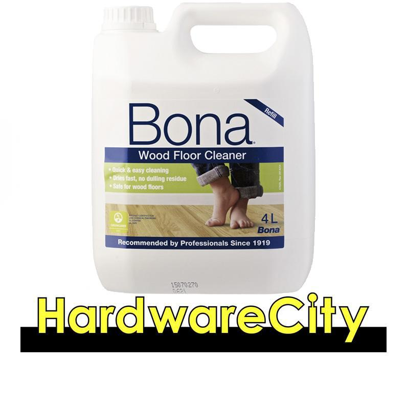Bona Wood Floor Cleaner Refill 4l [wm740119011] By Hardwarecity Online Store