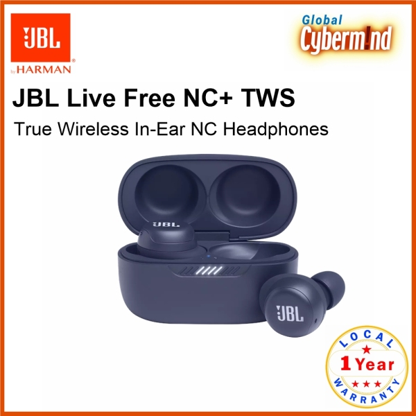 JBL Live Free NC+ TWS True Wireless In-Ear NC Headphones (Brought to you by Global Cybermind) Singapore