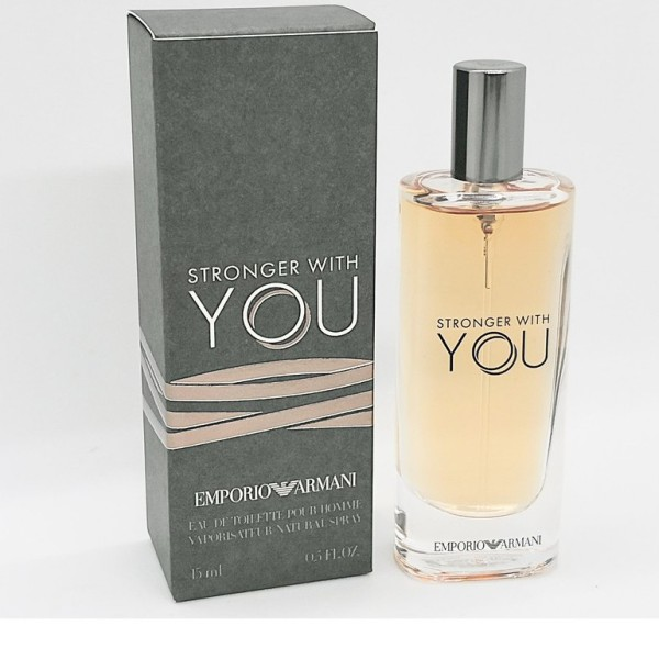 Buy EMPORIO ARMANI STRONGER WITH YOU EDT POUR HOMME 15ML Singapore