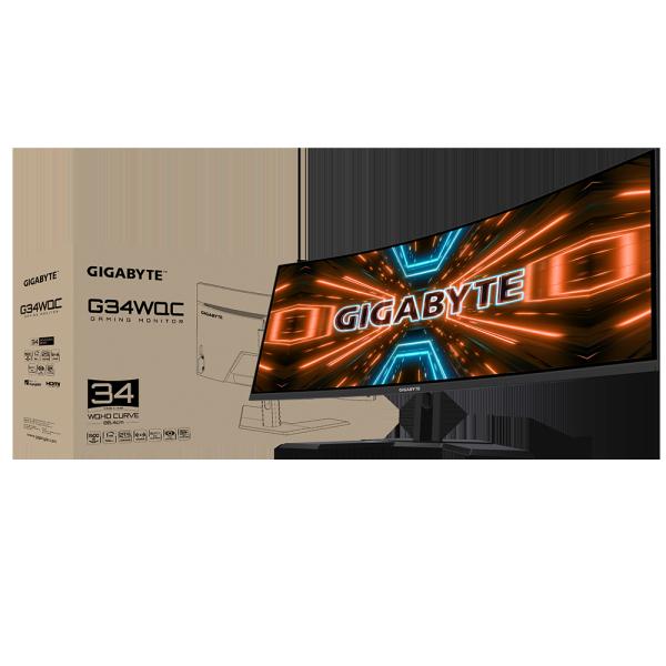 [NEW] Gigabyte G34WQC Gaming Monitor