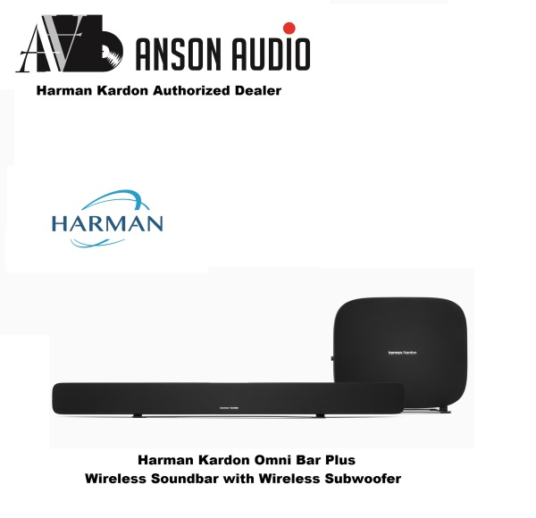 Harman Kardon Omni Bar Plus Wireless Soundbar with Wireless Subwoofer Singapore