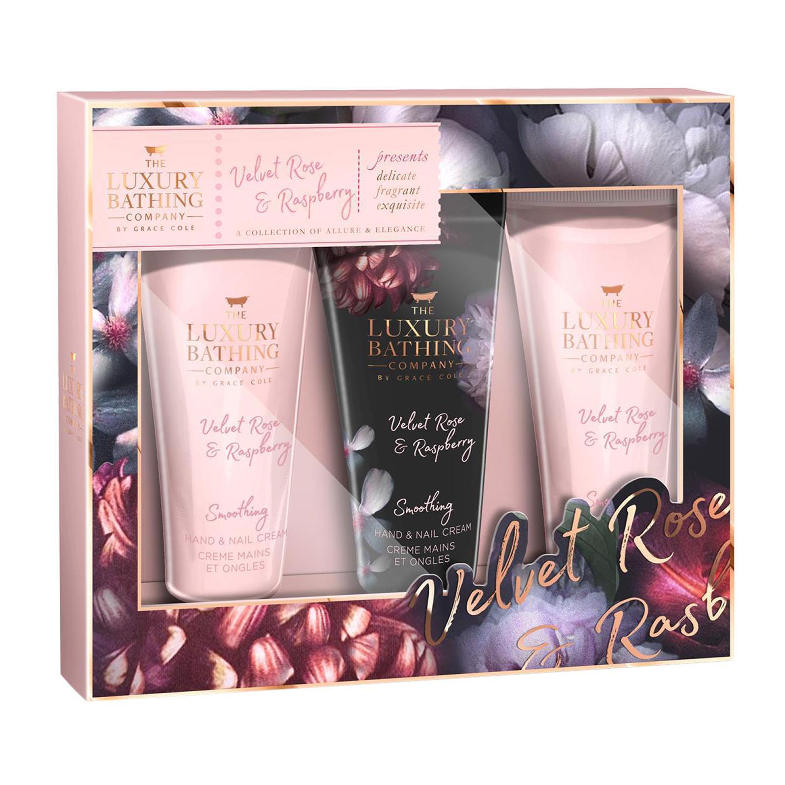 Grace Cole Velvet Rose and Raspberry - Tempting Trio Gift Set