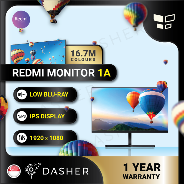 [Ready Stock] Redmi Monitor 1A 23.8 IPS 1920x1080p 60hz 178° Low Blue Light Slim Eye Protection Computer Gaming Monitor