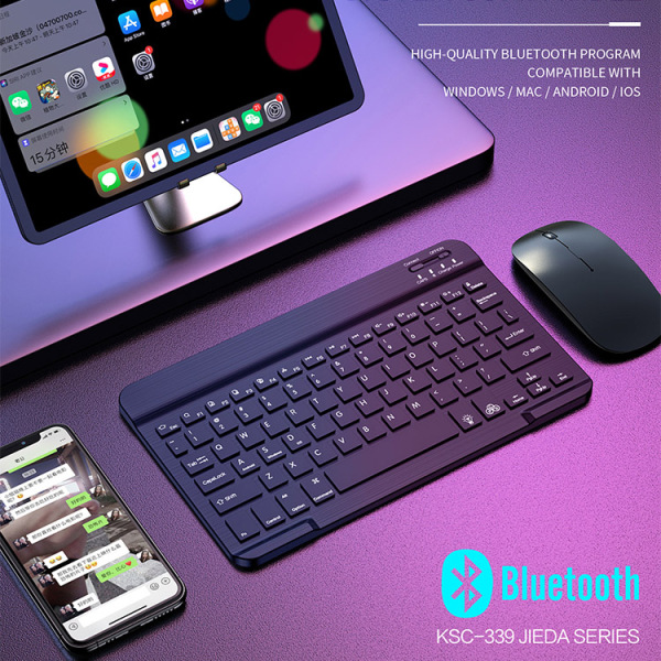 [SG] KAKU Universal Bluetooth Wireless Keyboard - Compatible with Windows/MAC/Android/iOS/Phone/iPad/Tablet – mobile phone handphone iphone Samsung Huawei xiaomi ipad pro 11 12.9 10.2 7 air 3/2/1 mini 5/4 9.7 – Local SG Seller, Fast Delivery!