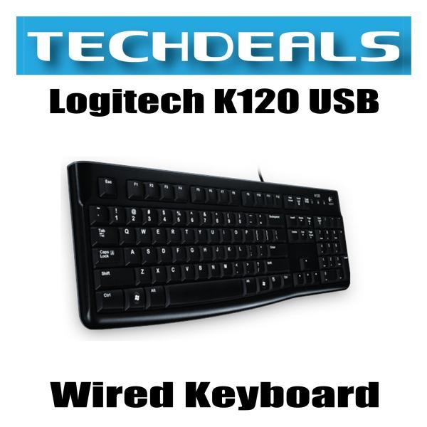 Logitech K120 USB Wired Keyboard Singapore