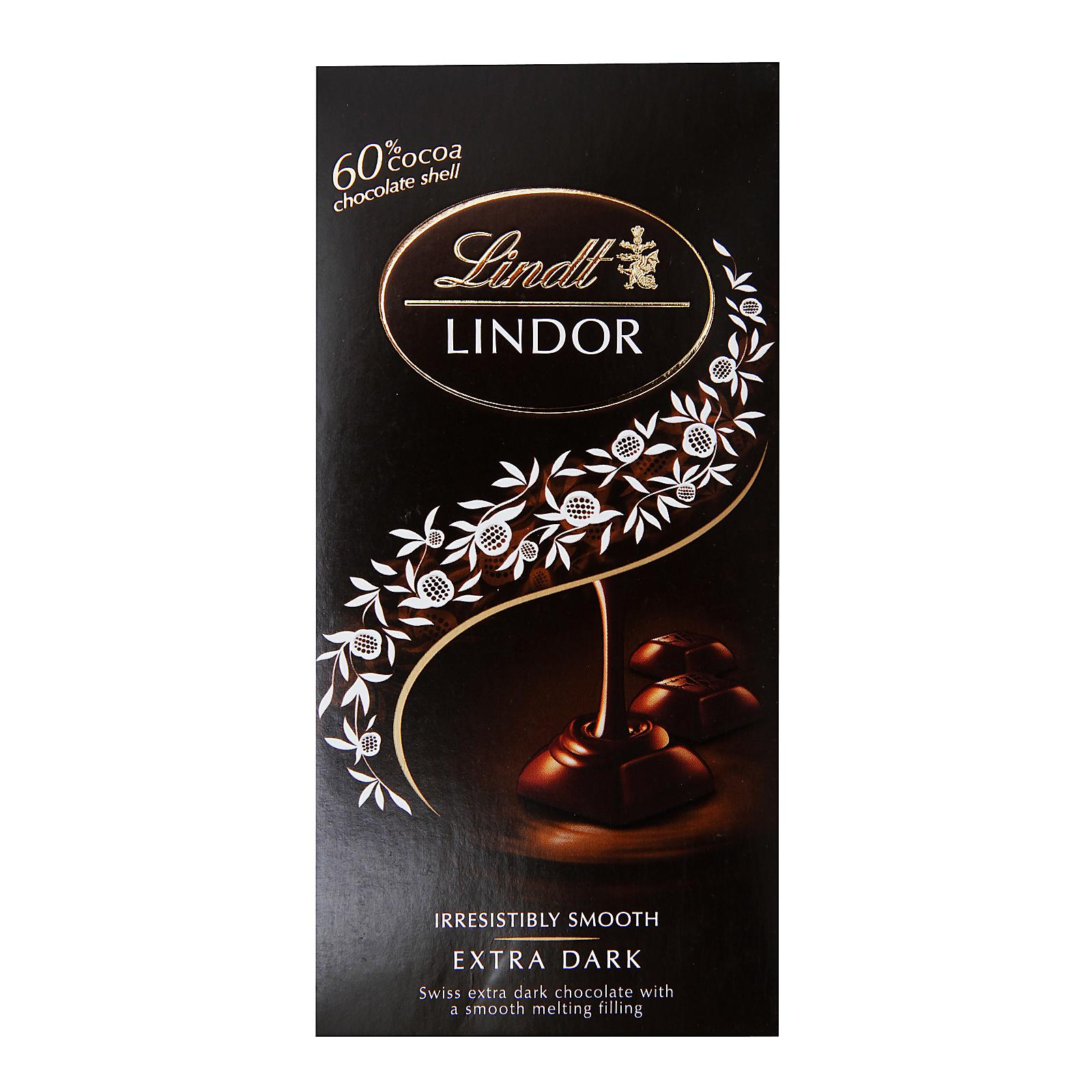 Lindt Lindor Dark Chocolate Bar