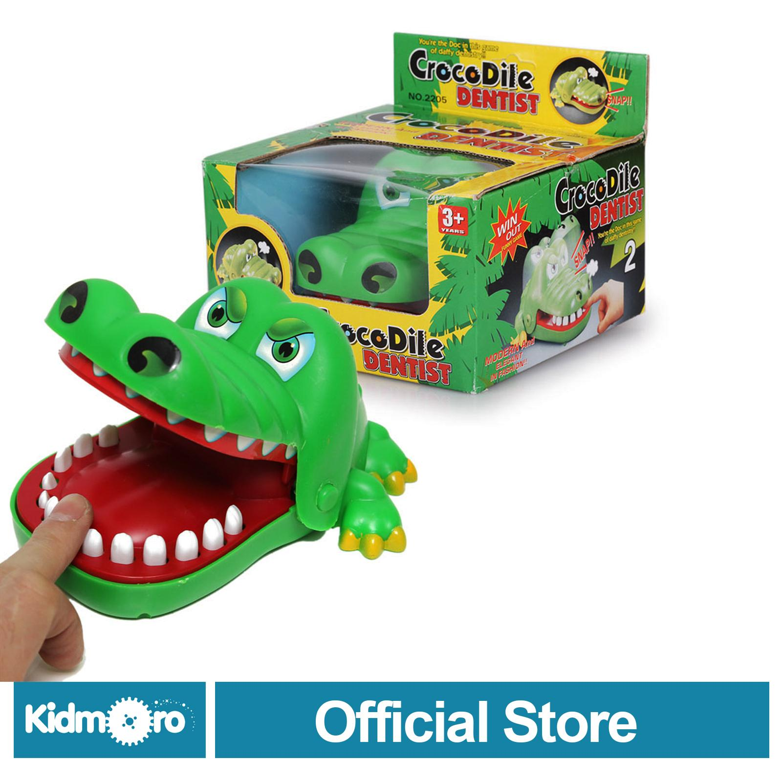 Crocodile Dentist Family Game Toys By Kidmoro.