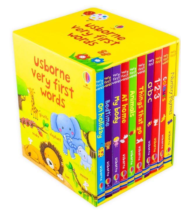 [SG SELLER] [10 BOARD BOOKS] USBORNE VERY FIRST WORDS