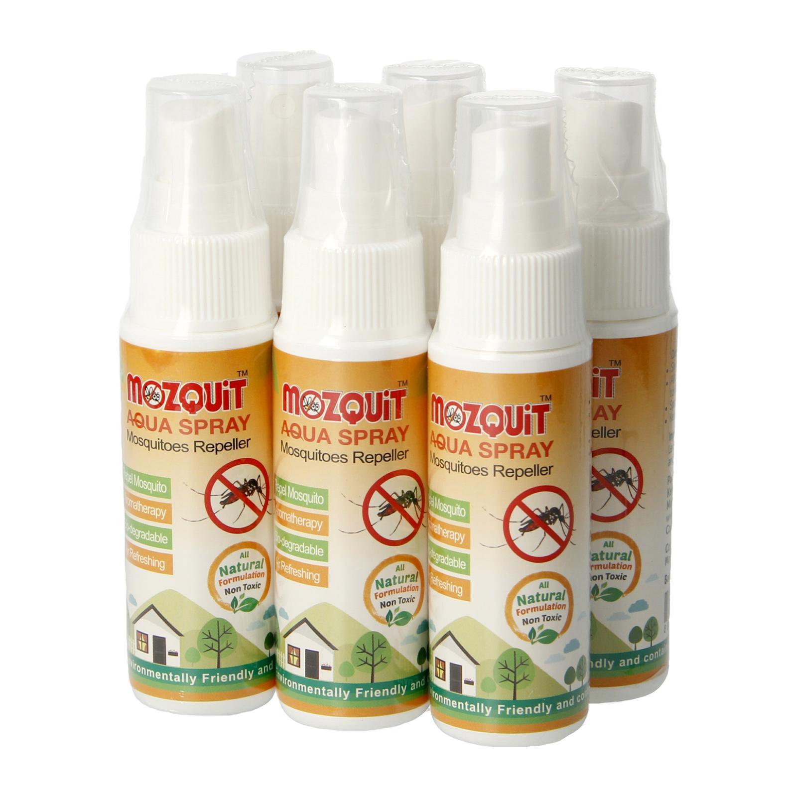 Mozquit Mosquito Repellent Aqua Spray (Bundle Of 6)