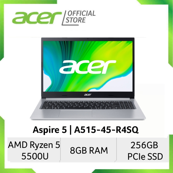[AMD Ryzen 5000 Series] Acer Aspire 5 A515-45-R4SQ 15.6 Inches FHD Laptop | Ryzen 5 5500U Processor