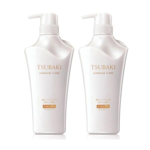 Buy SHISEIDO TSUBAKI (Bundle of 2) Shampoo 500ml [Damage Care] Singapore