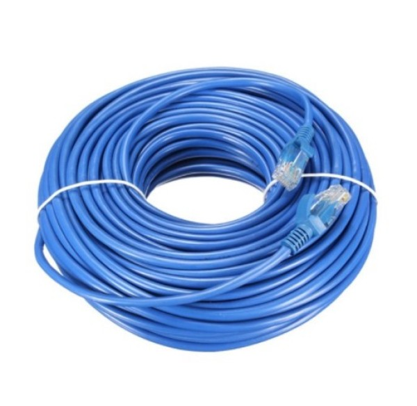 10m/15m/20m/30m Long LAN RJ45 Cat 6 Ethernet Cable Flat High Speed Network UTP Patch Router