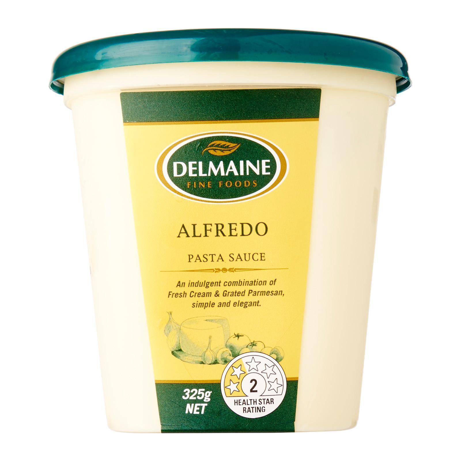 Delmaine Premium Alfredo Fresh Pasta Sauce By Redmart.