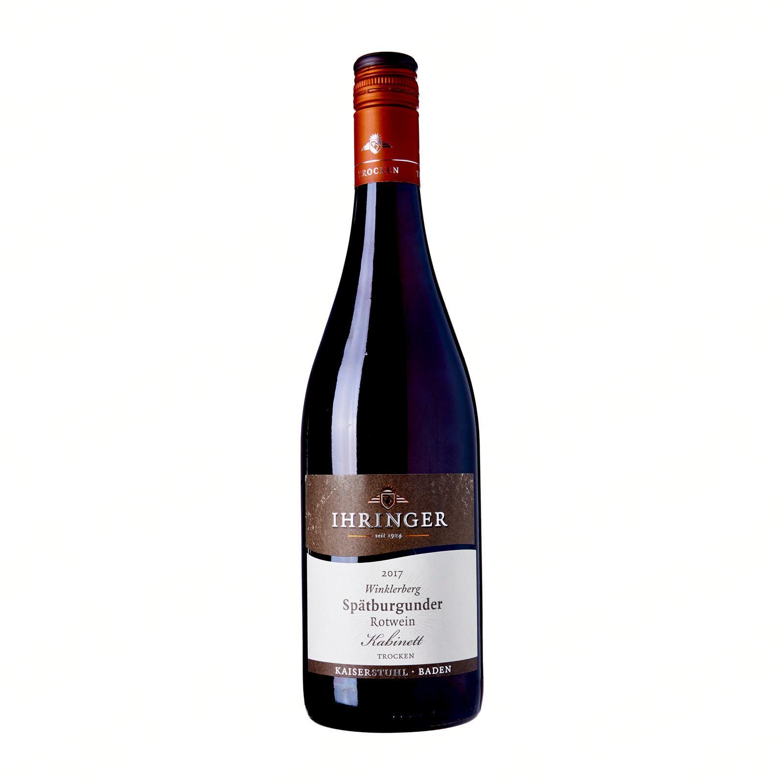 Ihringer Winklerberg Pinot Noir Red Wine Cabinet Dry