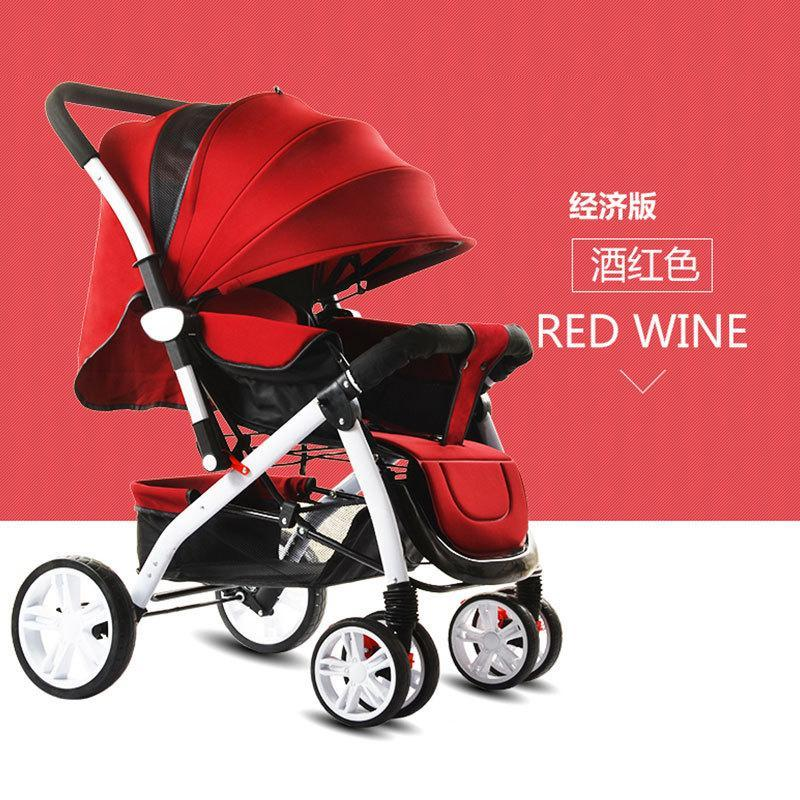 Ggx New Style High View Baby Stroller Can Sit Armchair Folding Shock Light Two-Way Children Trolley Singapore