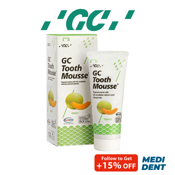 Buy GC TOOTH MOUSSE SUGAR FREE TOPICAL CREME MELON 40G Singapore