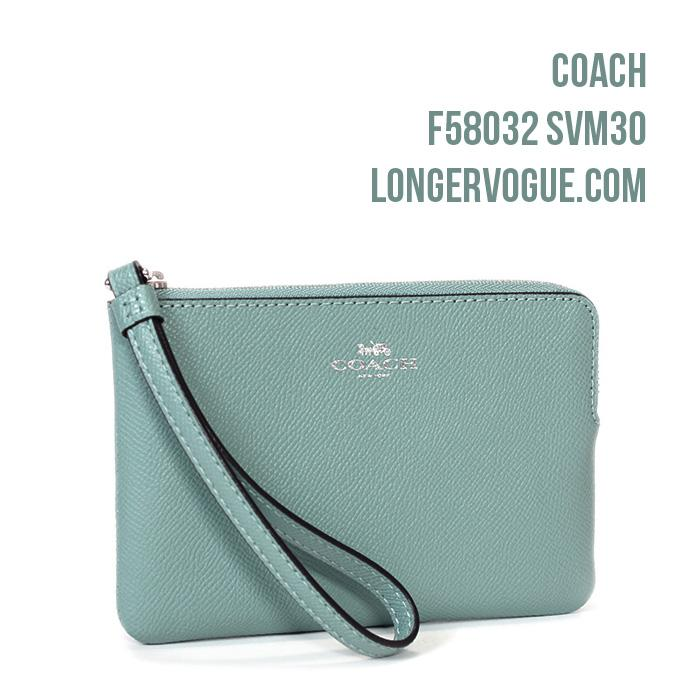 Coach Leather Wristlet Signature Coated Canvas phone wallet outlet pouch F58695 F58032 gift idea