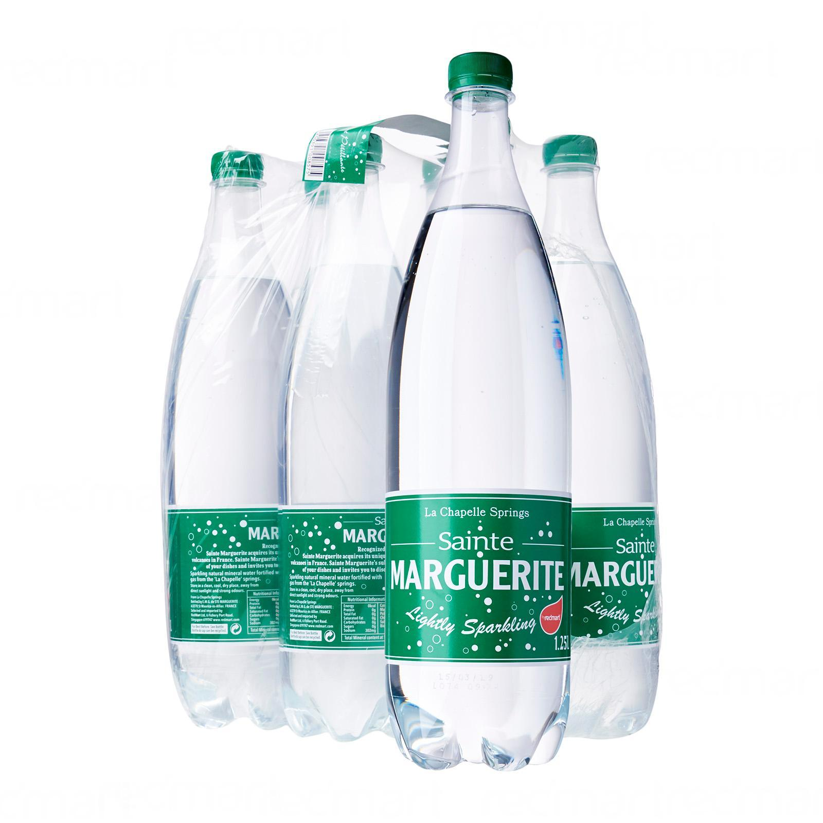 Redmart Sainte Marguerite Naturally Sparkling Mineral Water - Case By Redmart.