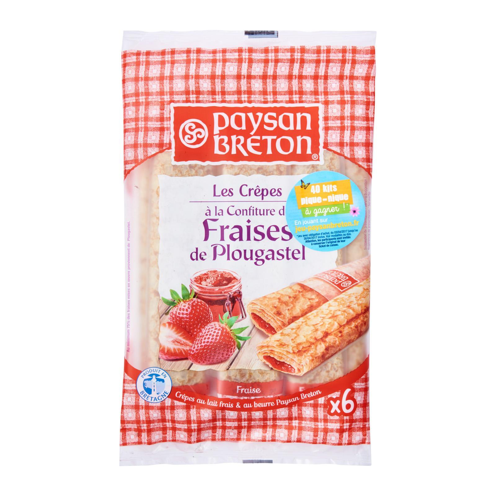 Paysan Breton Strawberry Crepes By Redmart.