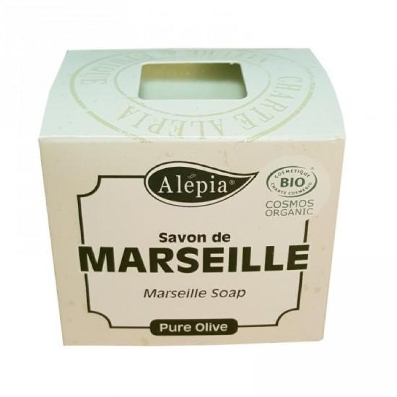 Buy Alepia Marseille Soap 230g★100% Olive Oil★Original Recipe★Certified Organic★Rated #1 Marseille Soap by Soap Expert in France 正宗法国马赛古皂★皇室贵族的首选清洁护肤用品★只含有机橄榄油 Singapore