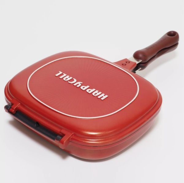 [SHIP FROM SG] HAPPYCALL COMPACT JUMBO DOUBLE PAN (3002-0130) - MADE IN KOREA Singapore