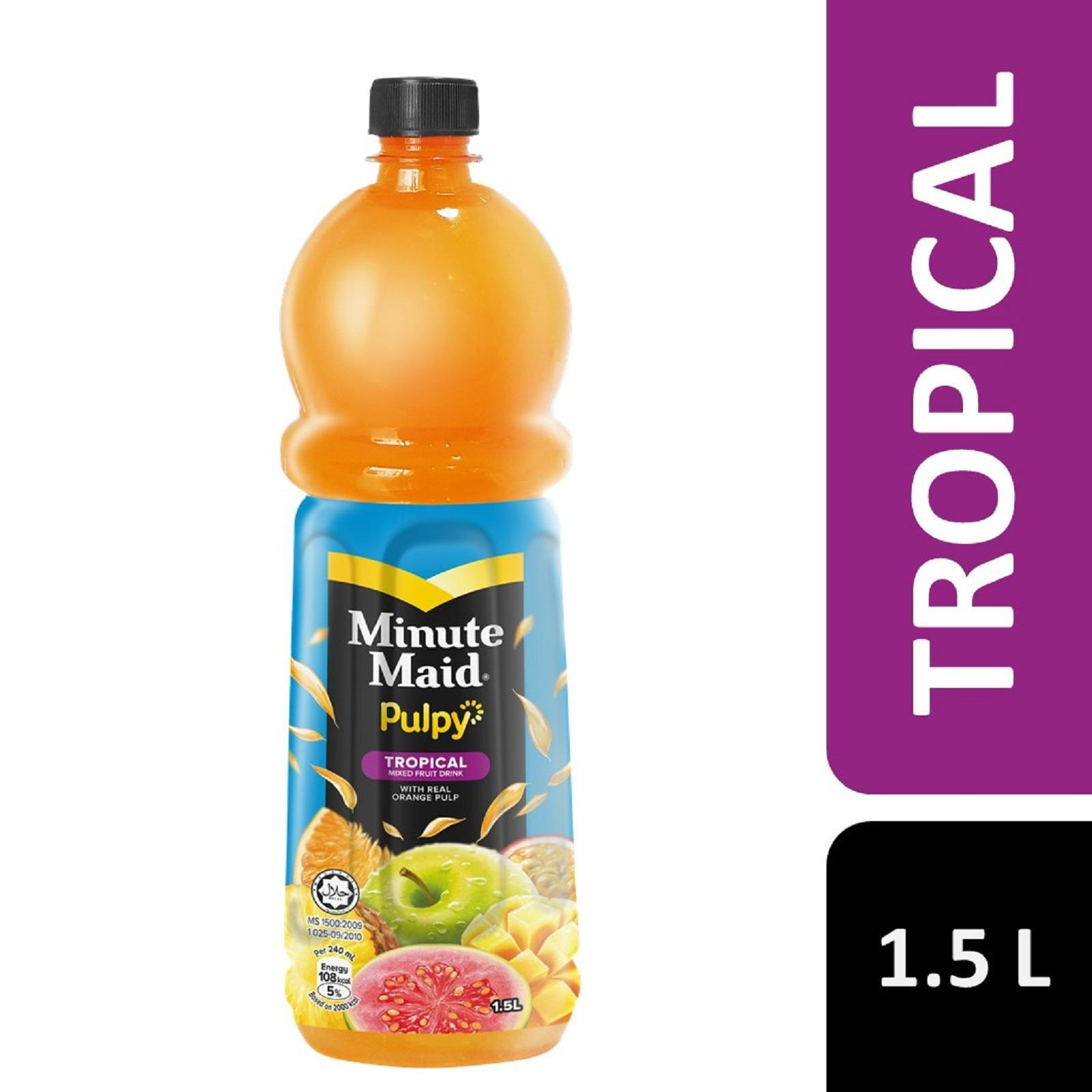 Minute Maid Pulpy Tropical Juice (1.5L)