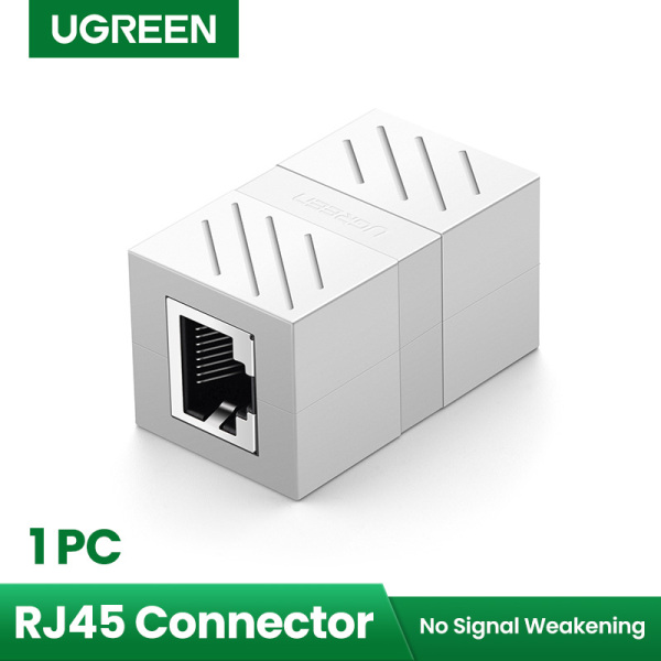 UGREEN RJ45 Cat 8 Cat7 Cat6 Cat5 RJ45 Female Connector Ethernet Adapter Lan Network Extender Extension Cable for Ethernet Cable