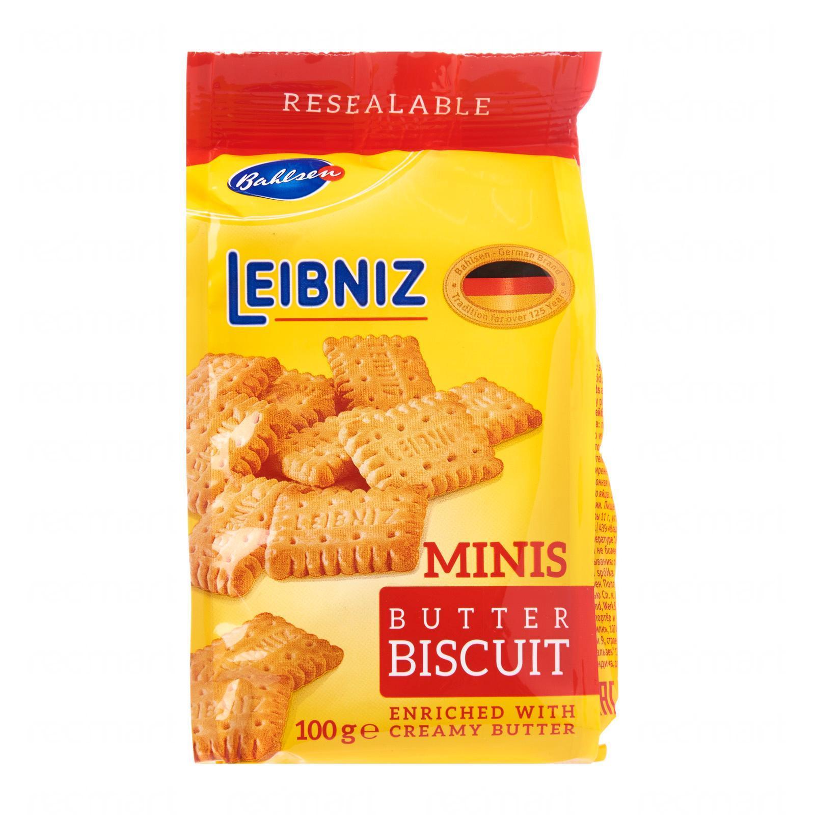 Bahlsen Leibniz Mini Butter Biscuits