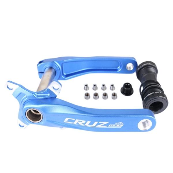Mua CRUZBIKE Bike Crank Arm Set 170mm Sprocket with Bottom Bracket and Chainring Bolts MTB BMX Road Bike