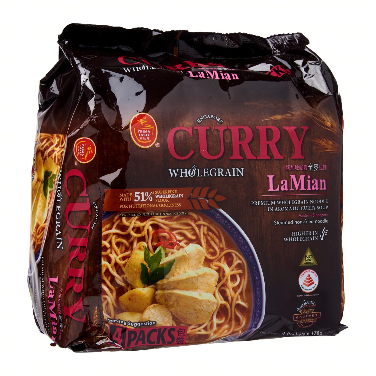Prima Taste Singapore Wholegrain Curry La Mian