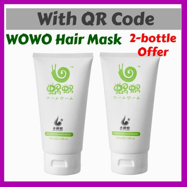 Buy Wowo Hair Mask 💑 QR Code (2 bottle Special) Singapore