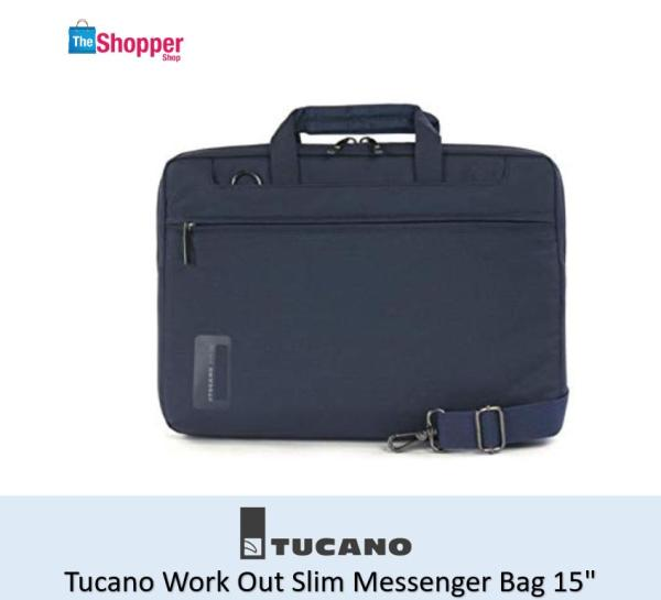Tucano Work Out Slim Messenger Bag 15(Dark Blue)