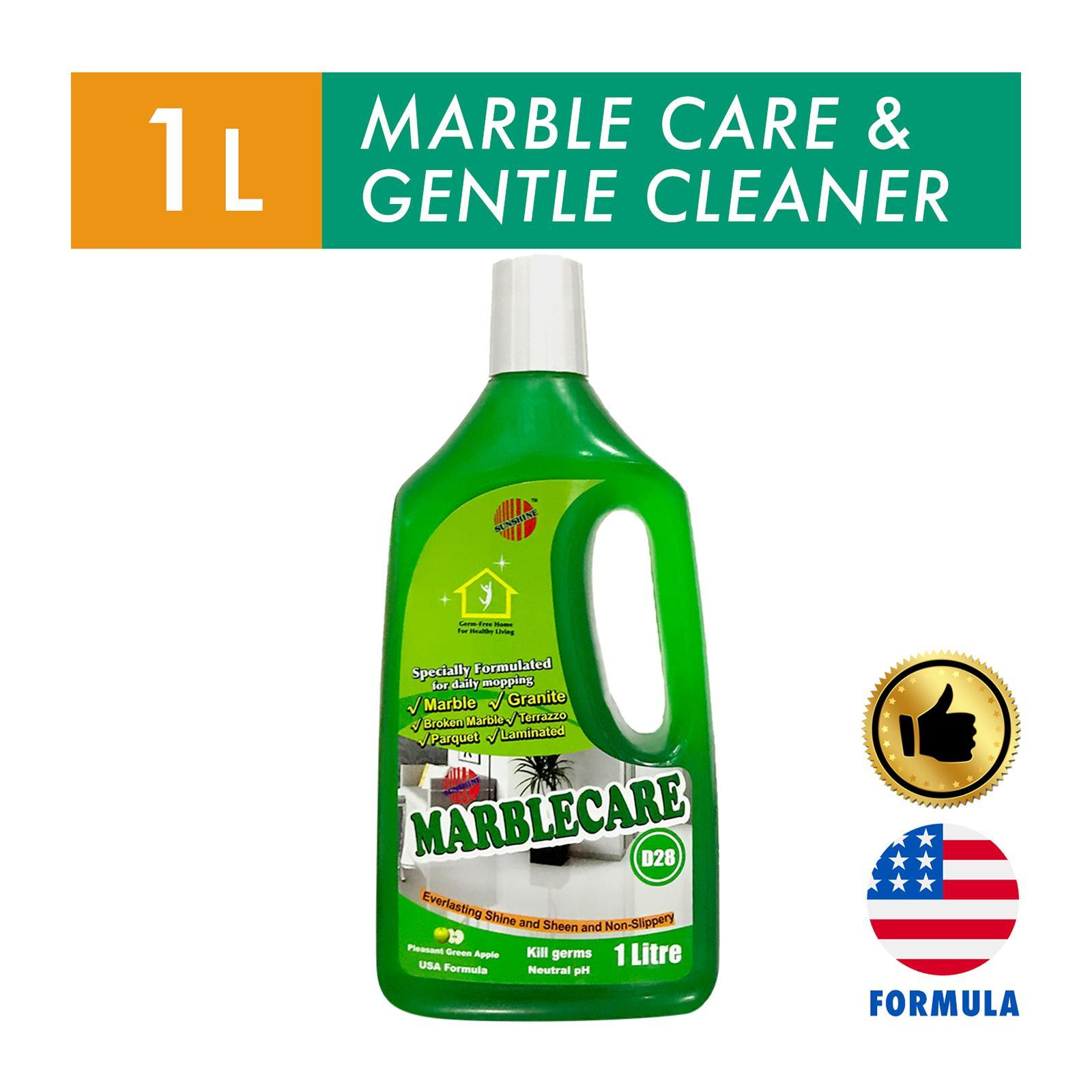 Sunshine Green Apple Marble Care Floor Cleaner 1 Litre