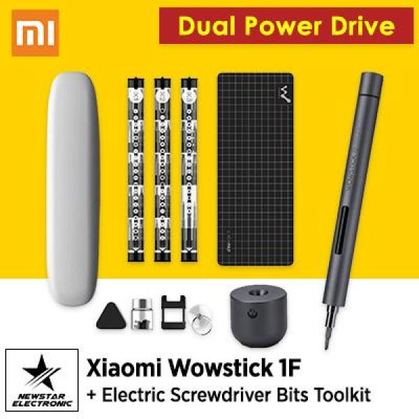 Xiaomi Wowstick 1F + Electric Screwdriver Bits Toolkit for Reparing Phone Toy Laptop Digital Product (EXPORT)
