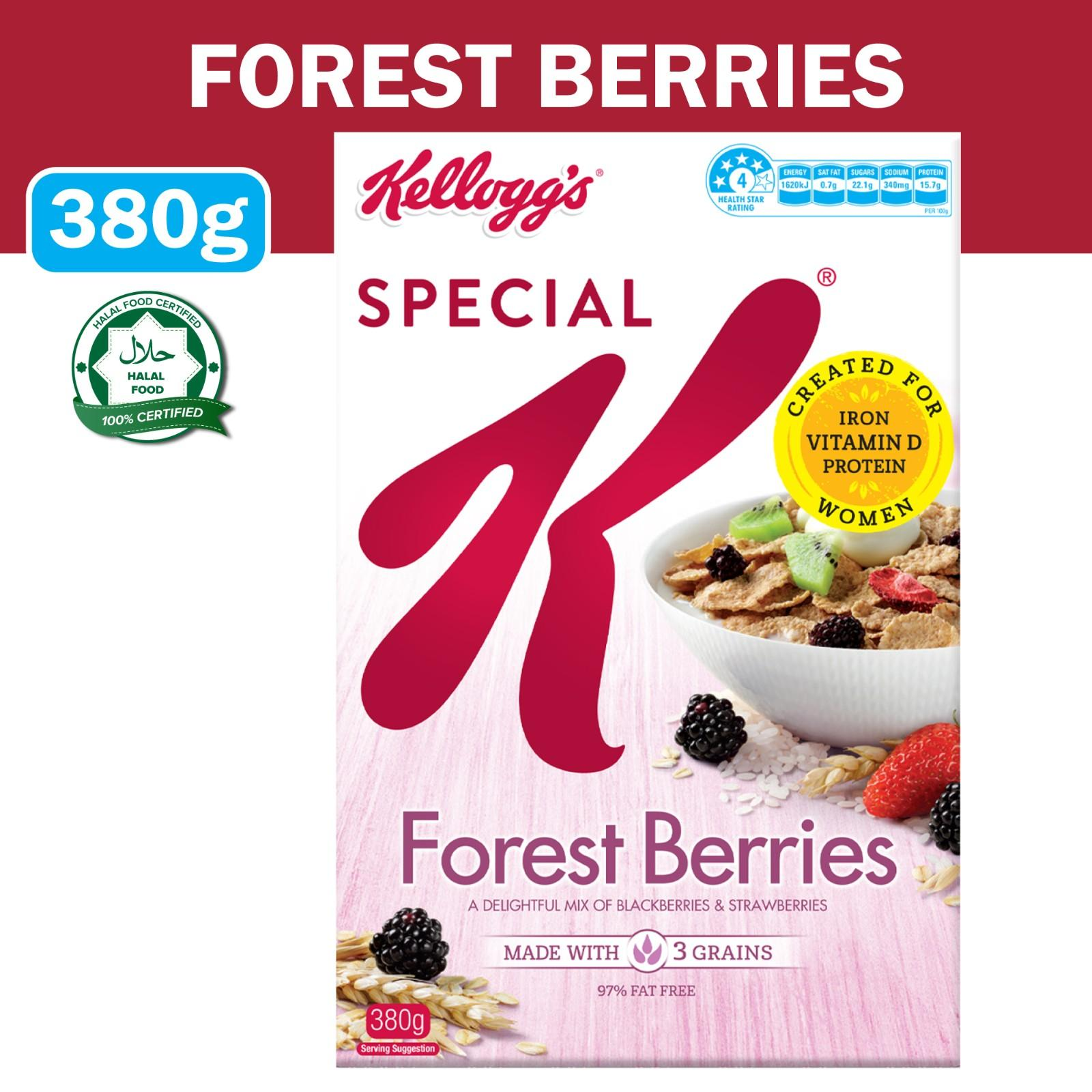 Kellogg's Special K Forest Berries Breakfast Cereal