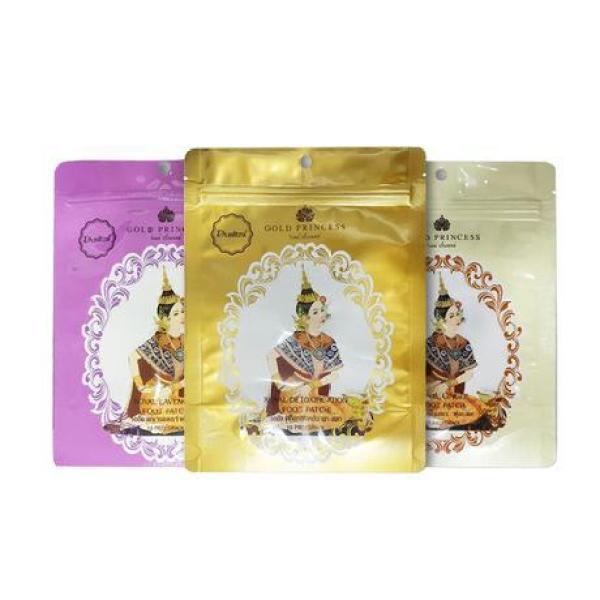 Buy 2 Pack Original Thailand Gold Princess Royal Detoxification Foot Patch / Ginger / Lavender 10 Patch x 2 Singapore