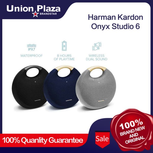 Harman Kardon Onyx Studio 6 Wireless IPX7 Waterproof Bluetooth Speaker New Singapore