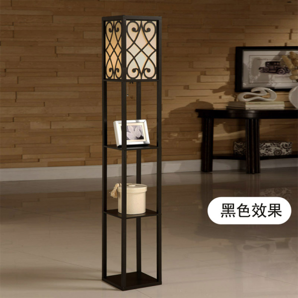 Remote Control Dimming American Pastoral Living Room off the Floor Lamp Bedroom Bedside Lamp Sofa Floor Lamp Simple Creative Gift for Wedding