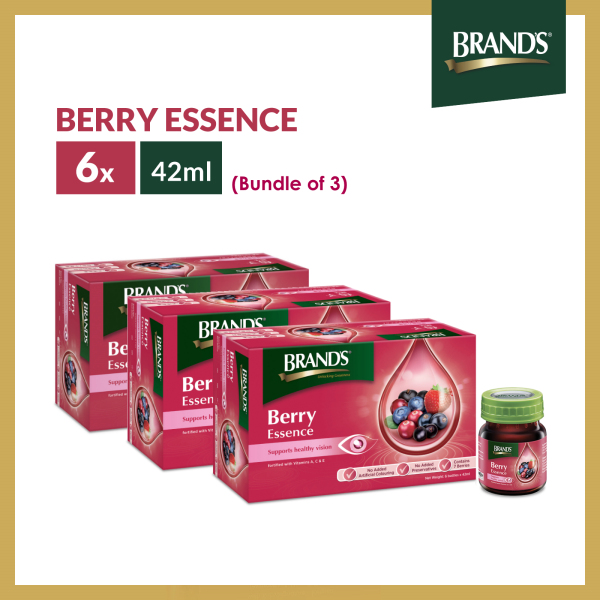 Buy [Bundle of 3] BRANDS® Berry Essence 6 Bottles x 42ml x 3 Packs Singapore