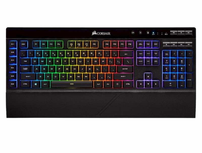 Corsair K57 RGB Keys Wireless Gaming Keyboard (EU) With USB Interface Black Singapore