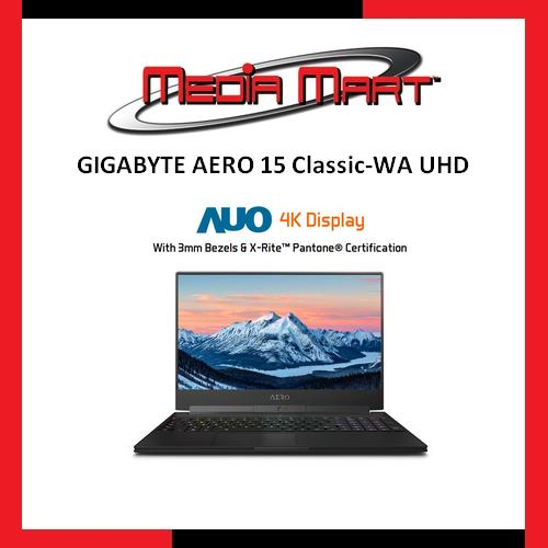GIGABYTE AERO 15 Classic-WA UHD