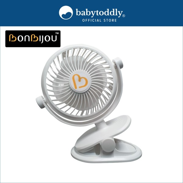 Bonbijou Clip On Fan (White) Singapore
