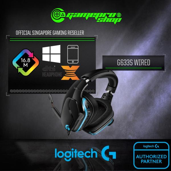Logitech G633S 7.1 Lightsync Gaming Headset - 981-000752 (2Y)