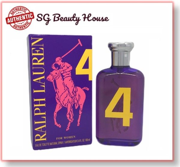 Buy RALPH LAUREN BIG PONY NO.4 COLLECTION FOR WOMEN EDT 50ML SPRAY Singapore