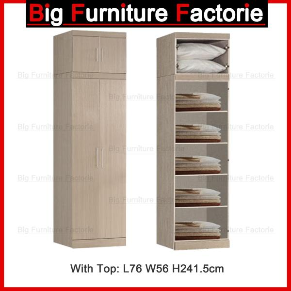 BFF-A4D Two Door Wardrobe with Top
