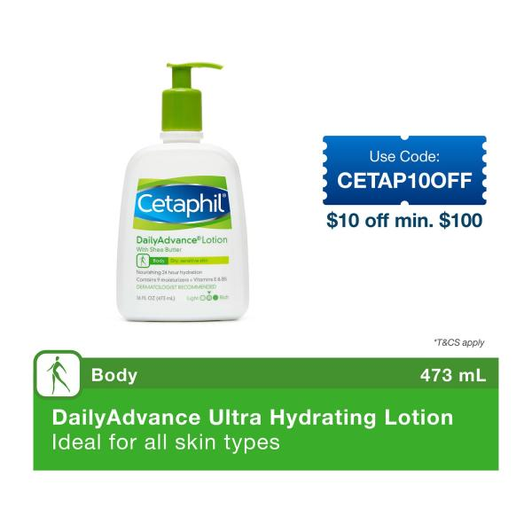 Buy Cetaphil Daily Advance Ultra Hydrating Lotion Singapore