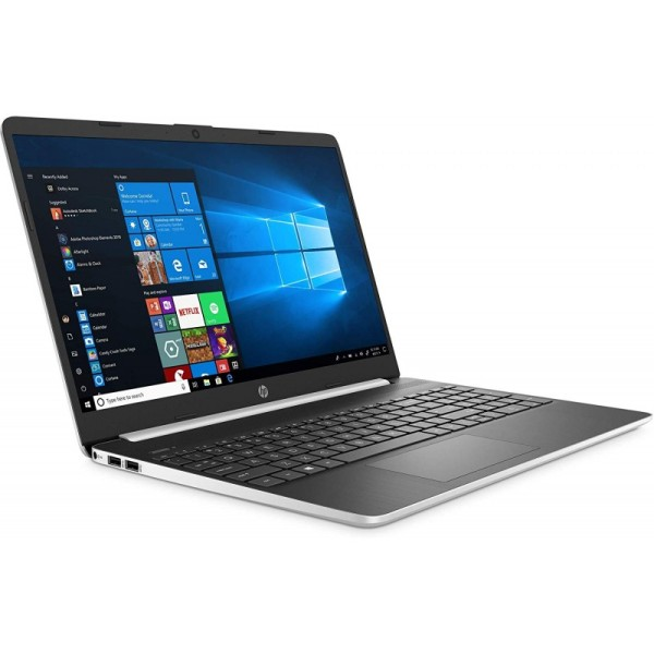 New model  2020 HP 10th generation 15-DY1051WM Notebook 15.6 inch display i5-1035G1 1GHz 8GB RAM 256GB SSD Win 10 Home Natural Silver  In-build Webcam ORIGINAL PACKAGING 1 year warranty