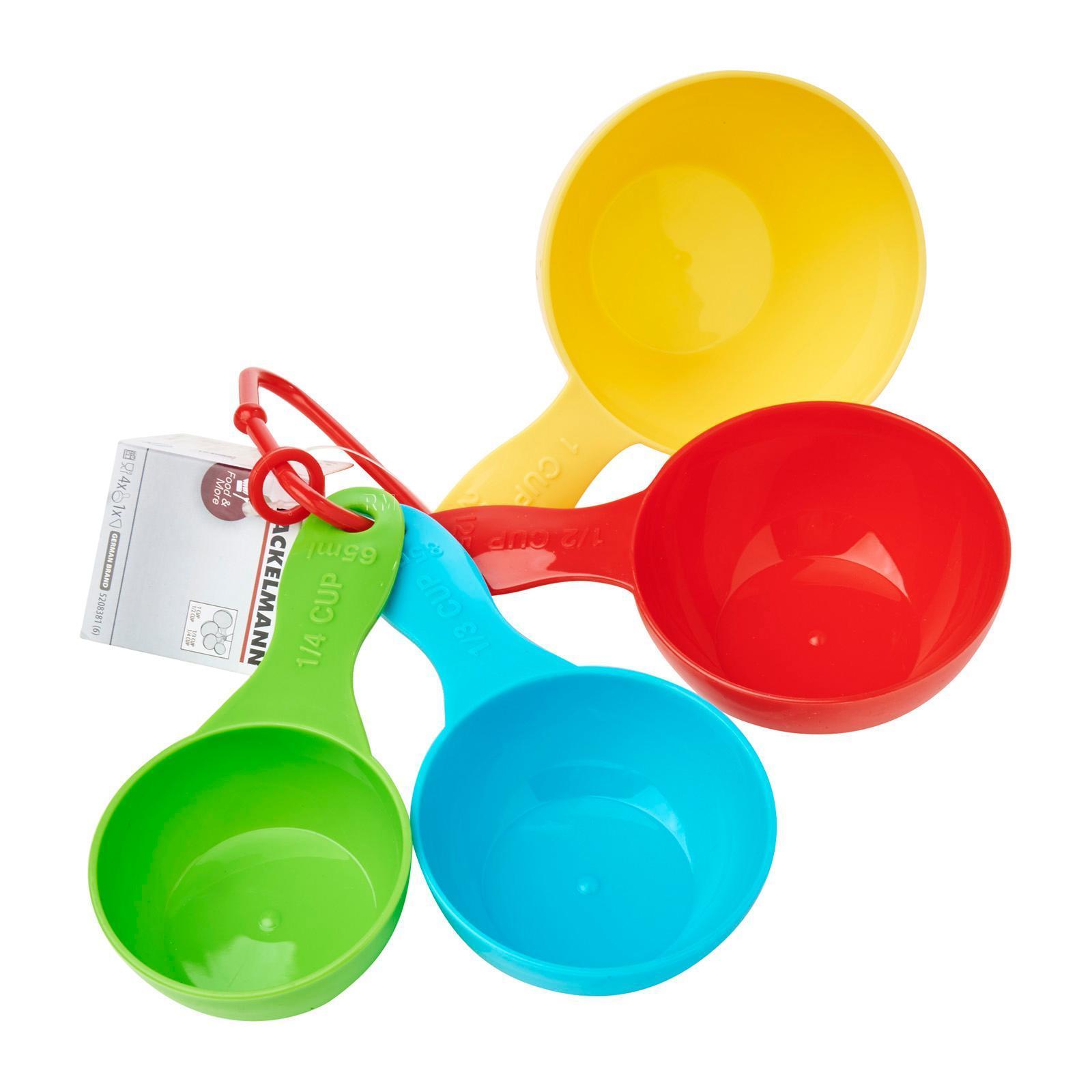 Fackelmann Candy Zenker Set Of 4 Measuring Cups
